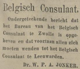 consulaat Zwolle