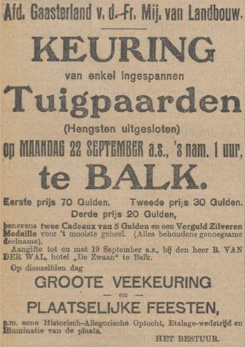historische feesten friesland